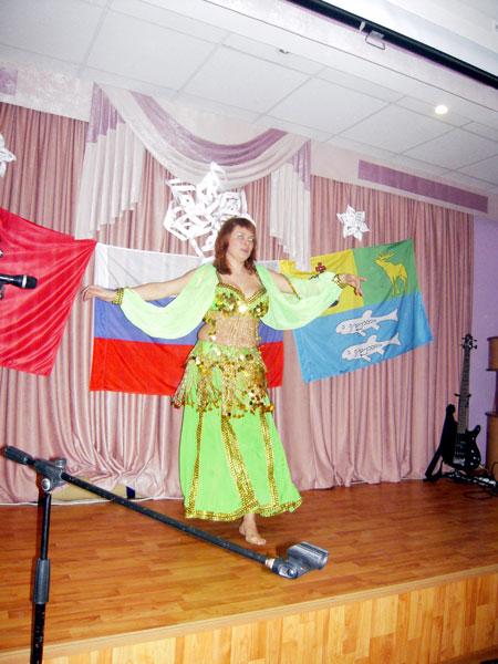 """Анна Пименова с танцем """"Восточная сказка"""""""