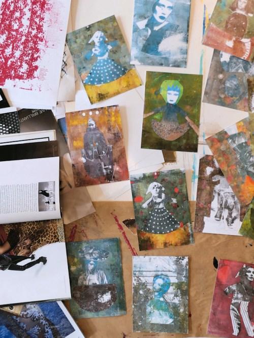 Transferts et photogravures