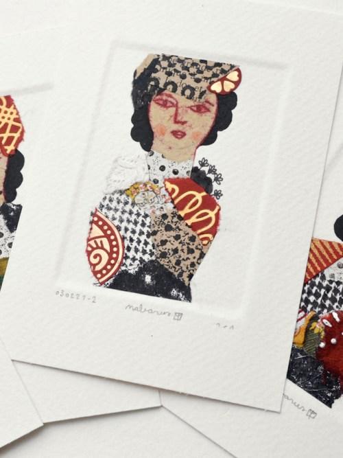 Collages miniatures