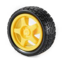 65mm rubber wheel, robot car wheel