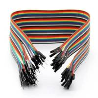 Male to Female Jumper Wire, Breadboard Jumper Cable