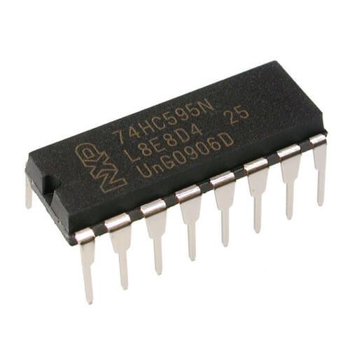 74HC595 8 Bit Serial to Parallel Shift Register