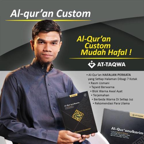Al Quran Millenial Attaqwa Mudah di Hafal