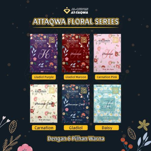 Al Quran Floral At Taqwa 6 Warna Pilihan