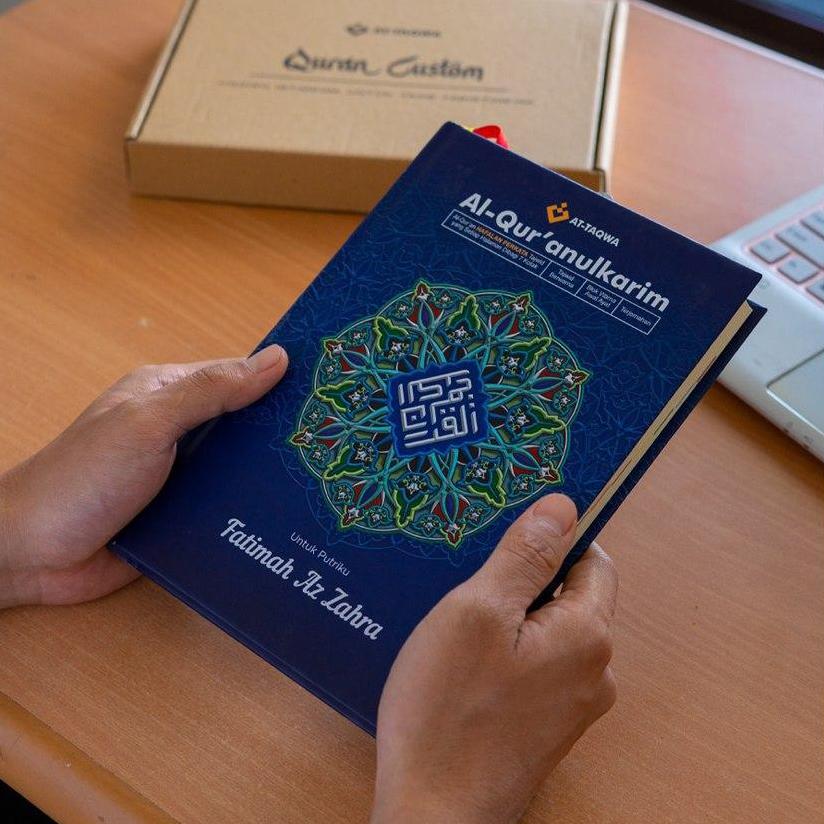 Al Quran Luxury Biru Attaqwa