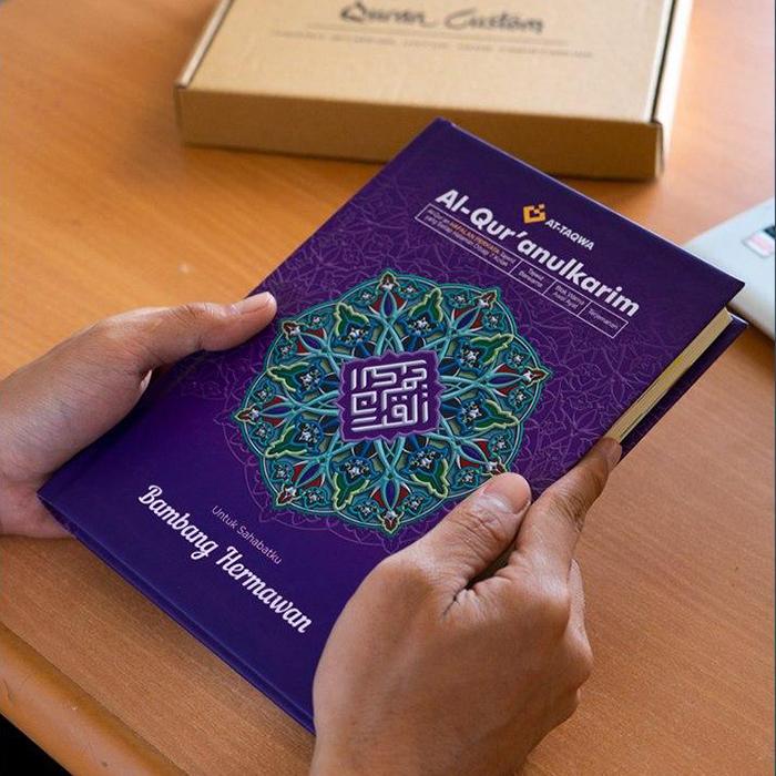 Al Quran Luxury Ungu Attaqwa