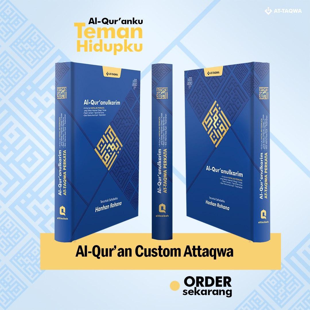 Al Quran Millenial Attaqwa Biru