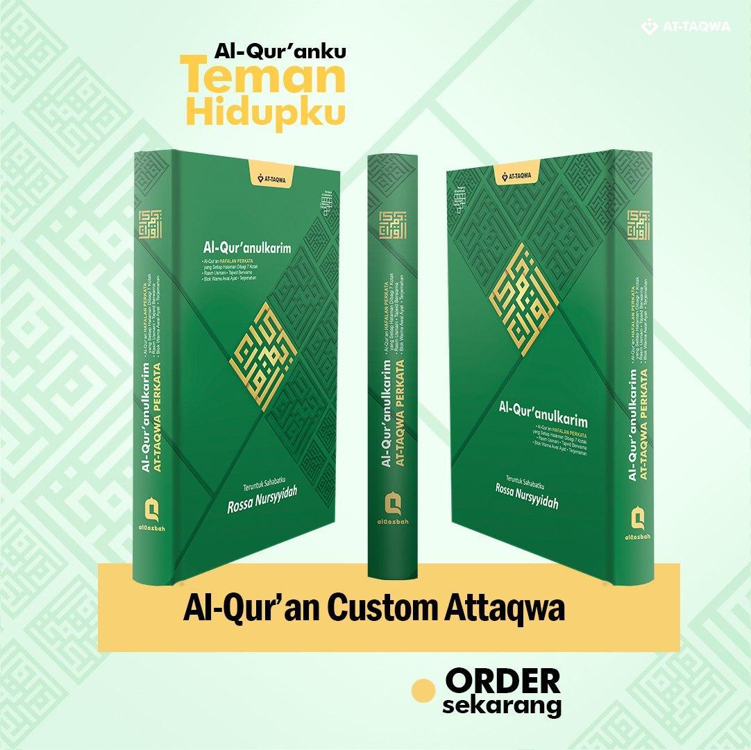 Al Quran Millenial Attaqwa Hijau'