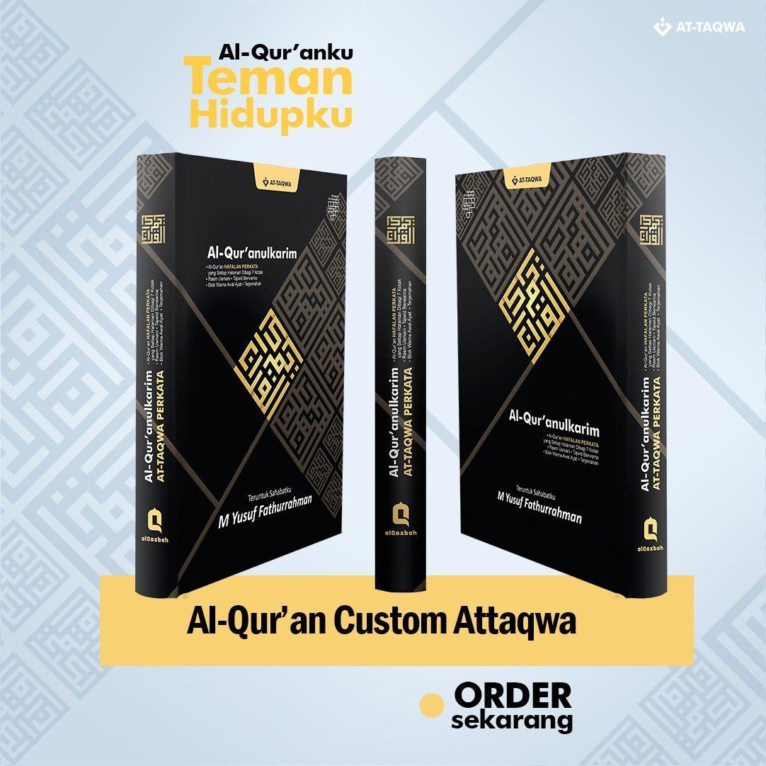 Al Quran Millenial Attaqwa Hitam