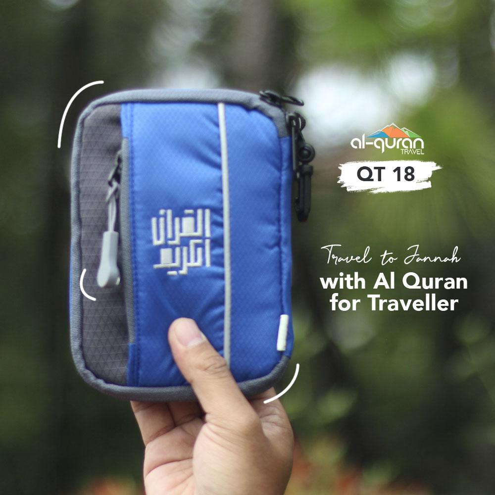 Al Quran Travel A6 Blue Grey