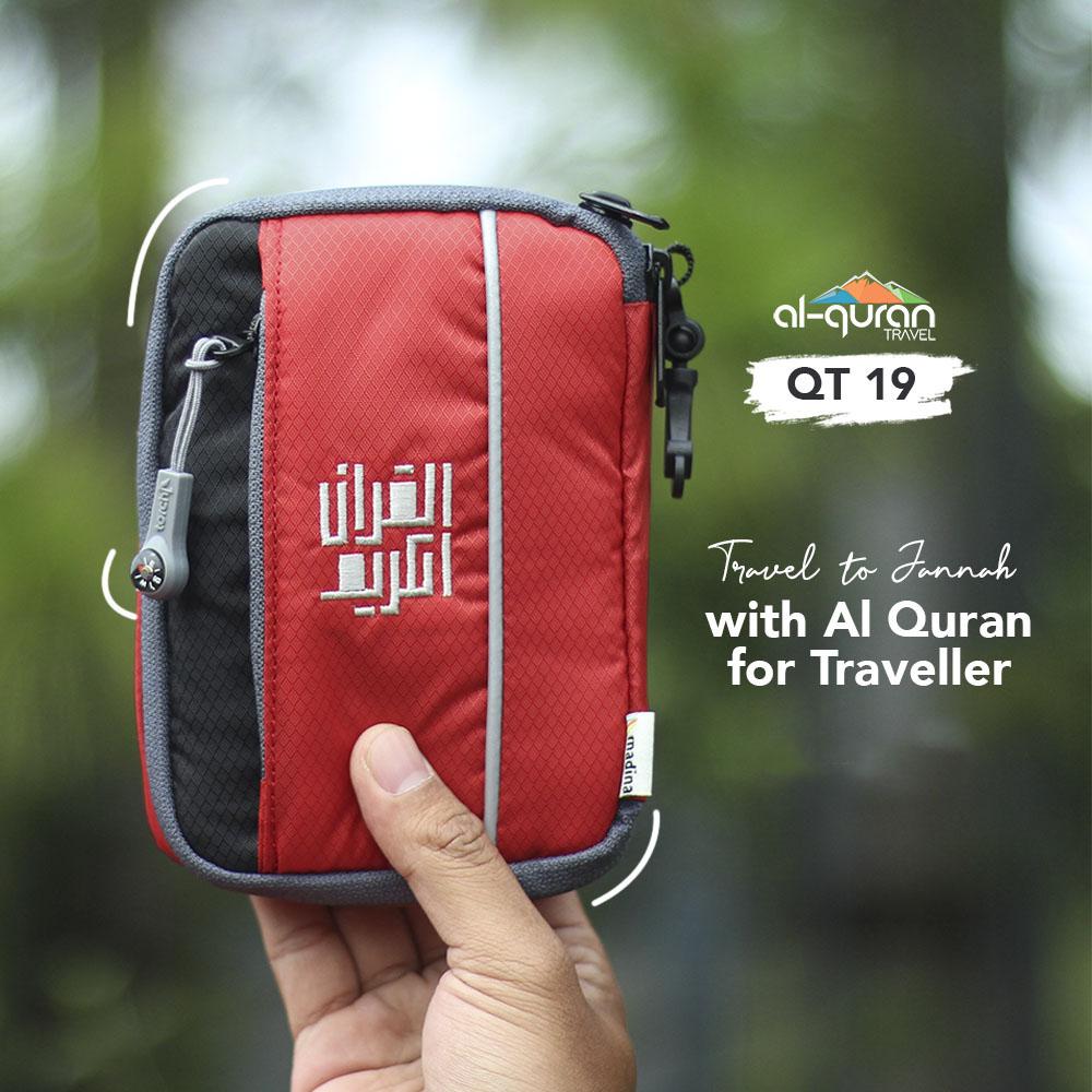 Al Quran Travel A6 Red Black