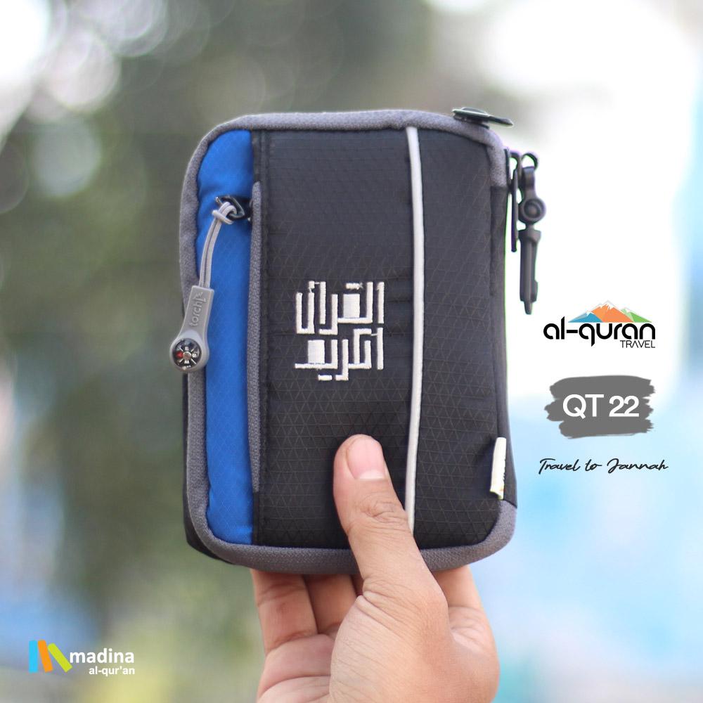 Al Quran Travel A6 Black Blue