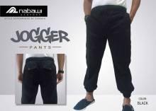 nabawi clothes sirwal jogger hitam
