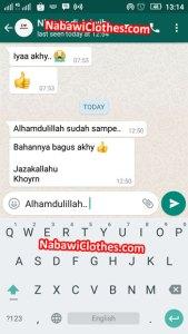 testimoni bagus baju koko gamis jubah anak pria nabawi murah