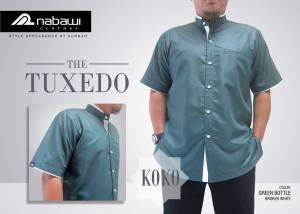 nabawi clothes koko tuxedo green bottle broken white