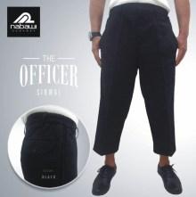 Nabawi Clothes - sirwal celana muslim ikhwan pria kantor sunnah hitam