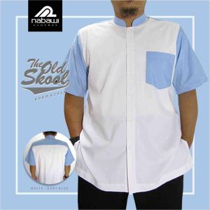 Nabawi Clothes - baju koko old skool putih