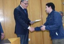 Photo of محافظ المنيا يسٌلم 68 عقد عمل لشباب الخريجين