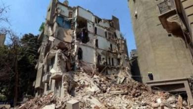 Photo of إصابة 5 أشخاص في انهيار عقار ببولاق أبو العلا
