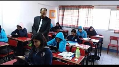"""Photo of طلاب الصف الأول الثانوي يؤدون امتحان """"الفيزياء"""" وفقًا لنظام التقييم الجديد"""