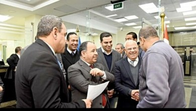 Photo of وزير المالية ومحافظ بورسعيد يتفقدان مبنى مجمع هيئات التأمين الصحي الشامل