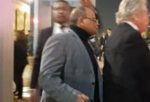 Photo of لبلبة وحسين فهمي يشاركون في عزاء الرئيس الراحل حسني مبارك