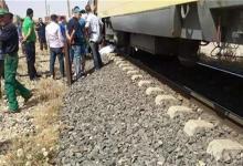 Photo of شاب يلقي مصرعه أثناء عبوره شريط السكه الحديد