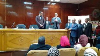 Photo of بالصور..رئيس جامعه بنها يفتتح دورات تدريب جائزة مصر للتميز الحكومى