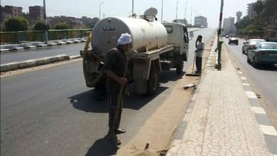 Photo of حملة نظافة مكبرة بطريق مصنع 300 الحربي بأبو زعبل
