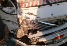 "Photo of بسبب ""السرعة الزائدة"" إصابة 10 أشخاص في تصادم سيارتين بطريق شبين بالقليوبية"