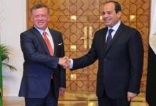 Photo of الرئيس السيسي يبحث مع ملك الأردن جهود مكافحة انتشار فيروس كورونا