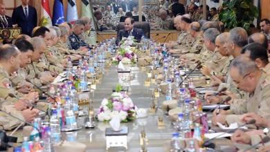Photo of الرئيس السيسي يترأس اجتماعًا موسعًا لقيادات القوات المسلحة