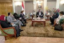 Photo of وزير التعليم العالى يستقبل سفير جمهورية غينيا الاستوائية بالقاهرة