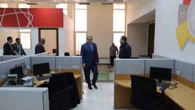 "Photo of ""سعفان"" يتفقد إدارات الوزارة للتأكد من تطبيق الإجراءات الاحترازية لمواجهة ""كورونا""..صور"