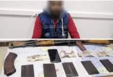 Photo of ضبط أحد العناصر الإجرامية بدمياط وبحوزته كميات من مخدر الحشيش بقصد الإتجار