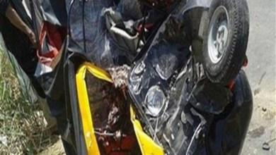 Photo of مصرع سائق وإصابة 3 أشخاص في حادث تصادم ببنها طريق كفر شكر