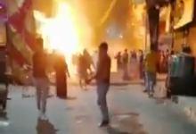 Photo of عاجل| انفجار اسطوانة غاز داخل مخبز آلى بمدينة بنها