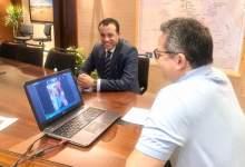 Photo of العناني يعقد اجتماع عبر الفيديو كونفرانس مع 20 سفيرا من الدول الأوربية