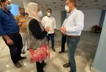 "Photo of ""الانصاري"" يتفقد أعمال تجهيز المركز المدني بشكشوك المخصص لعزل مصابي ""كورونا"""