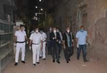 """Photo of القاضي"""" يتابع تنفيذ إجراءات الحجر الصحي بشارع سيدي حبيب"""