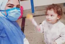 Photo of خروج أصغر طفلتين بمستشفى قها عقب تعافيهما من فيروس كورونا