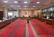 """Photo of """"صبحي"""" يشهد اجتماع اللجنة الأولمبية لمناقشة خطة عودة النشاط الرياضي"""