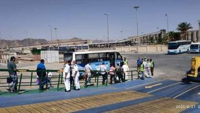 Photo of وزير النقل يتابع وصول 562 راكب مصرى من العائدين من المملكة العربية السعودية إلى ميناء سفاجا البحرى