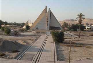 """Photo of """"المنيا"""" بدء أعمال المرحلة الثالثة لإنشاء المتحف الأتوني بعد التوقف 3شهور بسبب كورونا"""