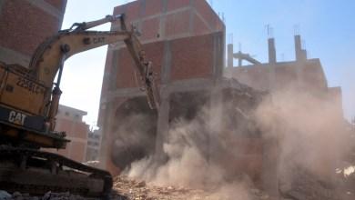 """Photo of """"الهجان"""" يشارك بحملة مكبرة لإزالة التعديات علي الأرض الزراعية بميت حلفا بقليوب إزالة 13 حالة على مساحة 1415 متر مربع"""