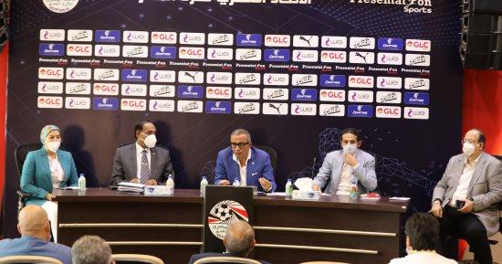 رسميا.. اتحاد الكرة يلغى انسحاب المصرى و يؤجل مباراته أمام الاتحاد