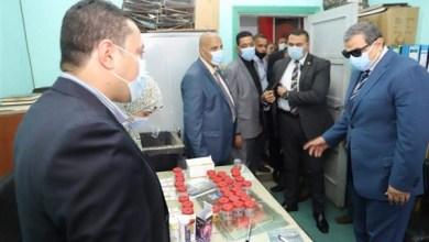 Photo of سعفان يتفقد أعمال لجنة الكشف عن تعاطي المخدرات بين العاملين