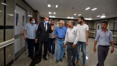 Photo of الهجان يتابع لجنة وزارة الصحة إستعدادا لإفتتاح مستشفي كفر شكر المركزي