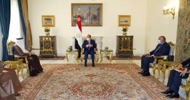 Photo of الرئيس السيسى يستقبل وزير خارجية البحرين فى قصر الاتحادية