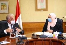 Photo of القباج: تؤكد علي أن الوزارة تعمل على تمويل مواتير رفع المياه وحفر للآبار
